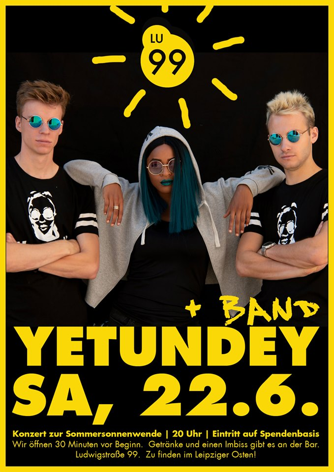 Yetundey Band in Leipzig